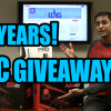 5YearsEpicGiveaway